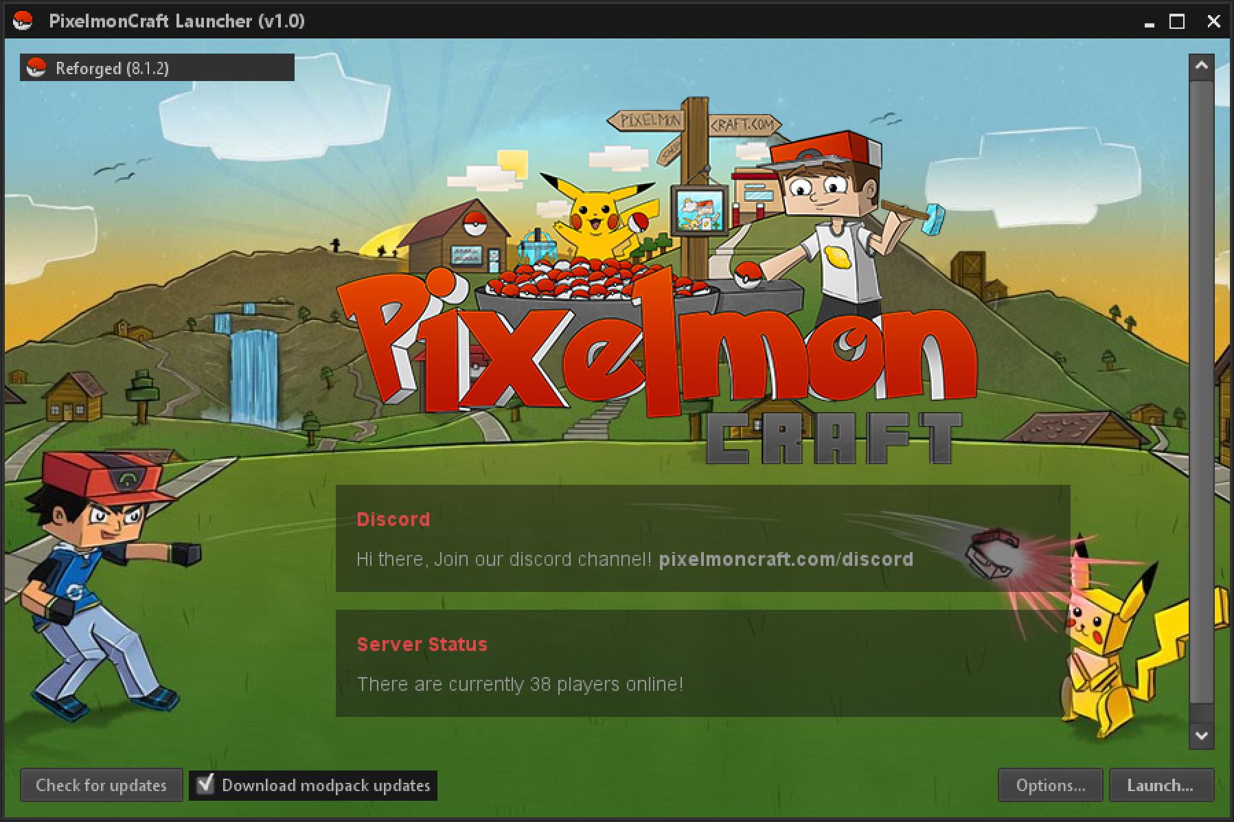 Pixelmon Modpack